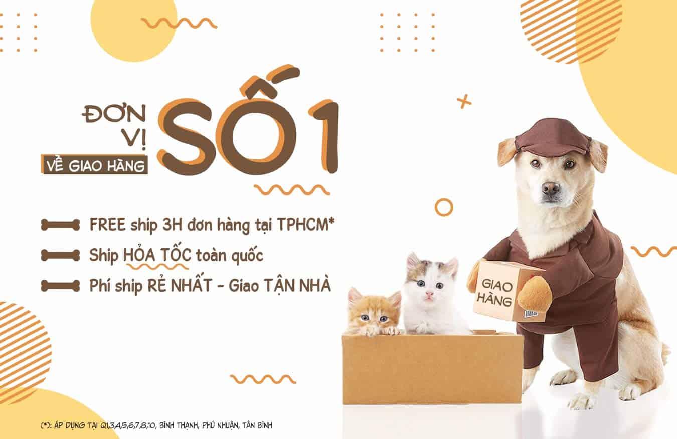Banner Pet Shop Sài Gòn 2