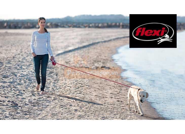 Dây Dắt Chó Tự Động Flexi Fun