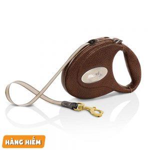 Dây Dắt Chó Tự Động Flexi Leather - Đức