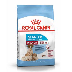 Thức Ăn Cho Chó Mẹ Và Con Royal Canin MEDIUM Starter (12kg)