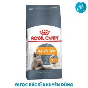 Thức Ăn Cải Thiện Da Và Lông Cho Mèo Royal Canin Hair & Skin Care (400g)