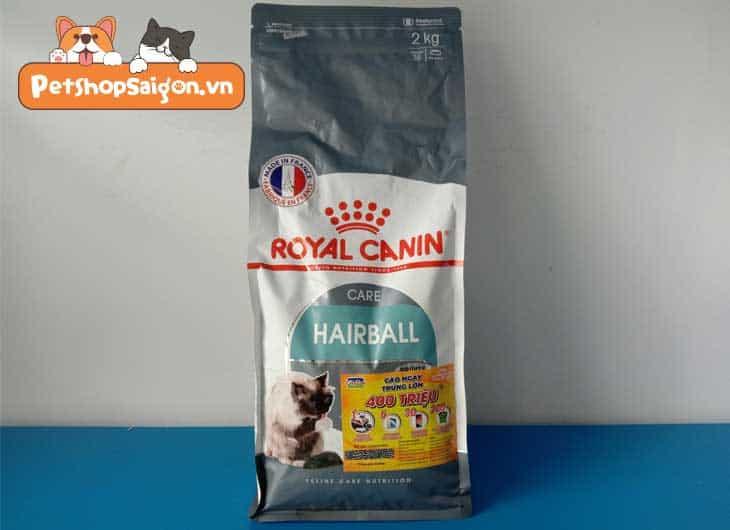 thức ăn cho mèo Royal Canin Hairball Care