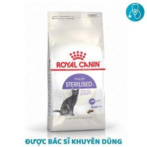 Thức Ăn Cho Mèo Triệt Sản Royal Canin Sterilised 37 (400g)