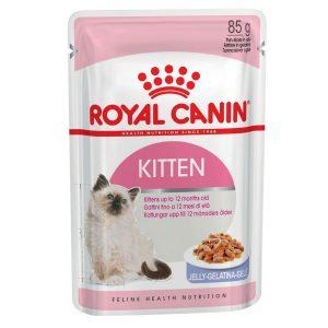 Pate Cho Mèo Con Royal Canin Kitten Jelly 85g (1 gói)