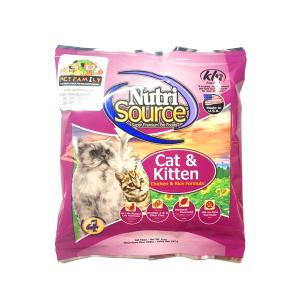 Thức Ăn Cho Mèo Giá Rẻ Nutri Source Gạo Và Gà (142g)