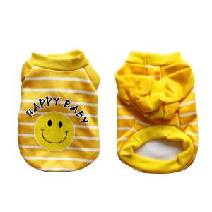 Quần Áo Cho Thú Cưng Giá Rẻ Hoạt Tiết Mặt Cười Happy Baby (S)