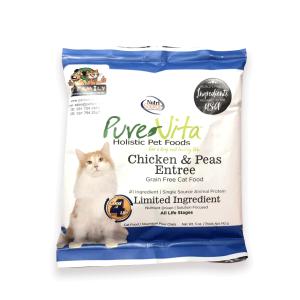 Thức Ăn Cho Mèo Giá Rẻ Nutri Source Pure Vita Gà Và Đậu Hà Lan (142g)