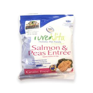 Thức Ăn Cho Chó Giá Rẻ Nutri Source Pure Vita Cá Hồi Và Đậu Hà Lan (142g)