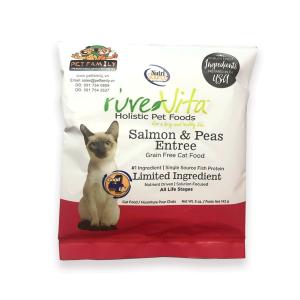 Thức Ăn Cho Mèo Giá Rẻ Nutri Source Pure Vita Cá Hồi Và Đậu Hà Lan (142g)