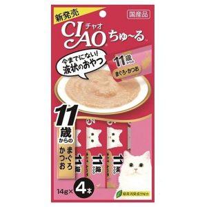 Pate Cho Mèo Ciao Churu Súp Collagen (14gx4)
