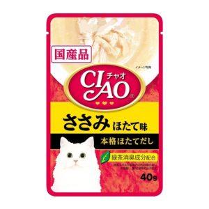 Pate Cho Mèo Ciao Phi Lê Gà & Sò Điệp (40g)
