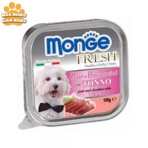 Pate Cho Chó Monge Fresh Cá Ngừ 100g - Ý
