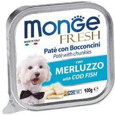 Pate Cho Chó Monge Fresh Cá Thu 100g