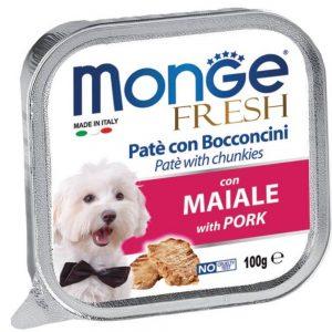 Pate Cho Chó Monge Fresh Thịt Heo 100g