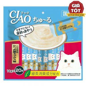Pate Cho Mèo Churu Phi Lê Gà (14gx20) - Hãng Nhật - Hàng Thái