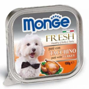 Pate Cho Chó Monge Fresh Gà Tây 100g