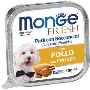 Pate Cho Chó Monge Fresh Thịt Gà 100g