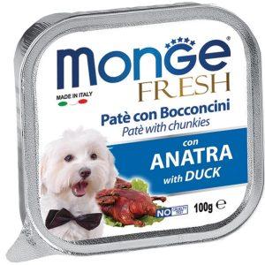 Pate Cho Chó Monge Fresh Thịt Vịt 100g
