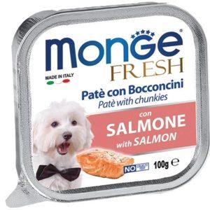Pate Cho Chó Monge Fresh Cá Hồi 100g