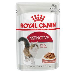 Pate Cho Mèo Trưởng Thành Royal Canin Instinctive Gravy 85g (1 gói)