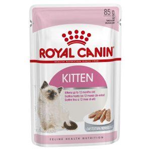Pate Cho Mèo Con Royal Canin Kitten Loaf 85g (1 gói)