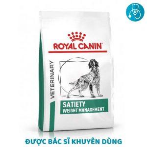 Thức ăn cho chó béo phì Royal Canin Satiety Weight Management (1,5kg)