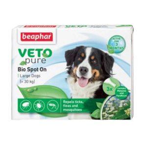 Thuốc Nhỏ Gáy Cho Chó Cỡ Lớn Ngăn Ngừa Ve Beaphar Bio Green