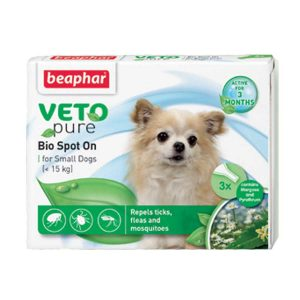 Thuốc Nhỏ Gáy Cho Chó Cỡ Nhỏ Ngăn Ngừa Ve Beaphar Bio Green