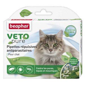 Thuốc Nhỏ Gáy Cho Mèo Trưởng Thành Ngăn Ngừa Ve Beaphar Bio Green
