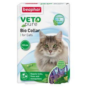 Vòng Cổ Cho Mèo Ngăn Ngừa Ve Beaphar Bio Green