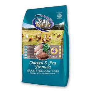 Thức Ăn Cho Chó Giá Rẻ Nutri Source Gà Và Đậu Hà Lan (13.6kg)
