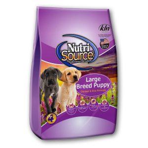 Thức Ăn Cho Chó Con Cỡ Lớn Nutri Source Gà Và Gạo Lức (13.6kg)