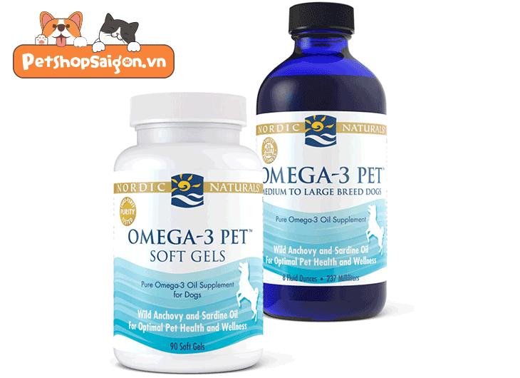 Lợi ích của axit béo omega-3 đối với chó