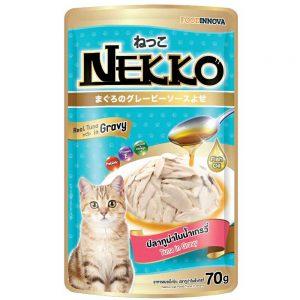 Pate cho mèo Gravy Nekko 70g - Vị cá ngừ