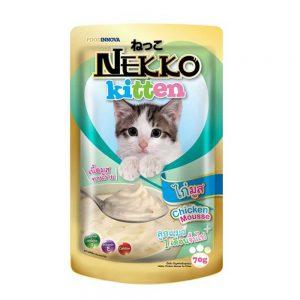 Pate cho mèo con Nekko 70g - Vị gà