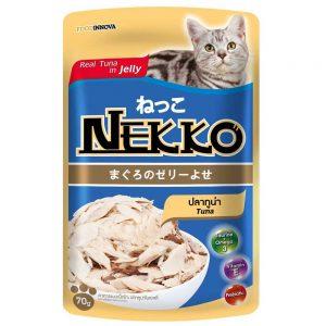 Pate cho mèo Jelly Nekko 70g - Vị cá ngừ