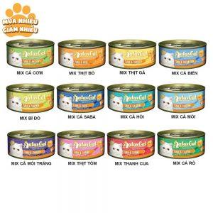 Pate tươi cho mèo Aatas 80g - 12 vị - Singapore