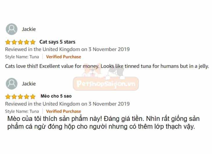 Pate Tươi Cho Mèo Gimcat 70g
