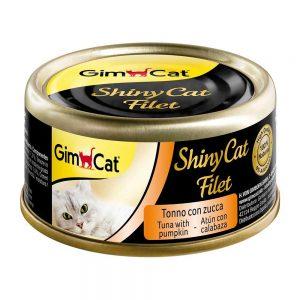 Pate tươi cho mèo Gimcat 70g - Cá ngừ & bí đỏ - Đức