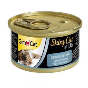 Pate tươi cho mèo Gimcat 70g - Thịt cá ngừ & tôm - Đức