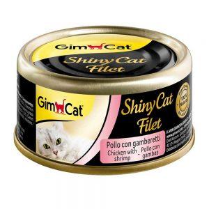 Pate tươi cho mèo Gimcat 70g - Thịt gà & tôm - Đức