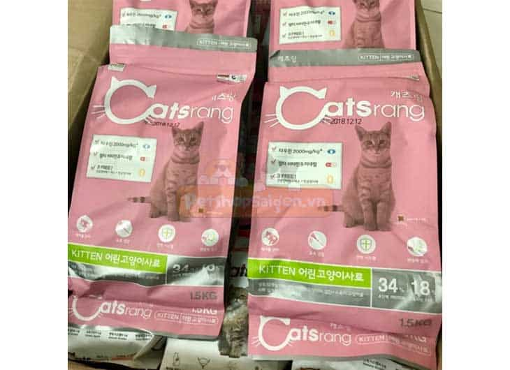 Thức Ăn Cho Mèo Con Catsrang Kitten