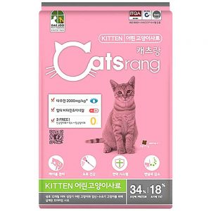 Thức ăn cho mèo con Catsrang Kitten 1.5kg - Hàn Quốc