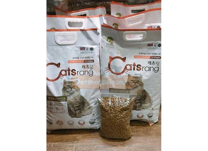 Thức Ăn Cho Mèo Lớn Catsrang