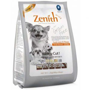 Thức ăn hạt mềm cho chó giống nhỏ Zenith 1.2kg - Hàn Quốc