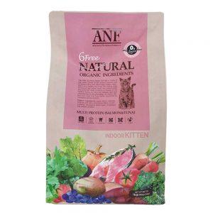 Thức ăn organic cho mèo con ANF 6 Free Indoor 6kg - Hàn Quốc