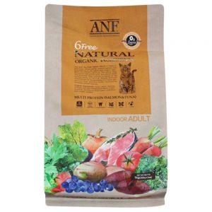 Thức ăn organic cho mèo lớn ANF 6 Free Indoor 6kg - Hàn Quốc