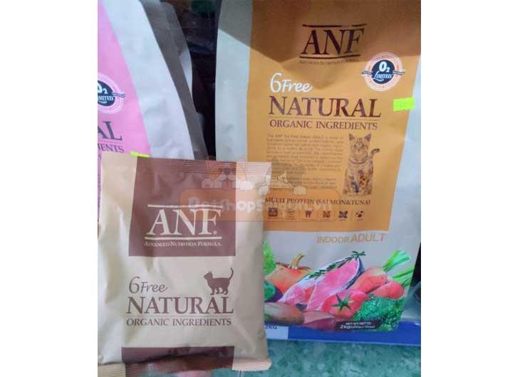 Thức ăn organic cho mèo lớn ANF 6 Free Indoor 6kg