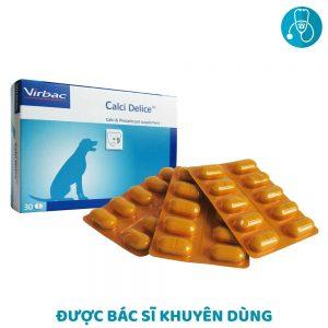 Viên nhai Virbac Calci Delice 30 viên - Bổ sung Canxi & Photpho - Pháp