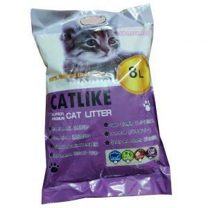 Cát vệ sinh cho mèo giá rẻ Catlike 8L - Dạng đất sét